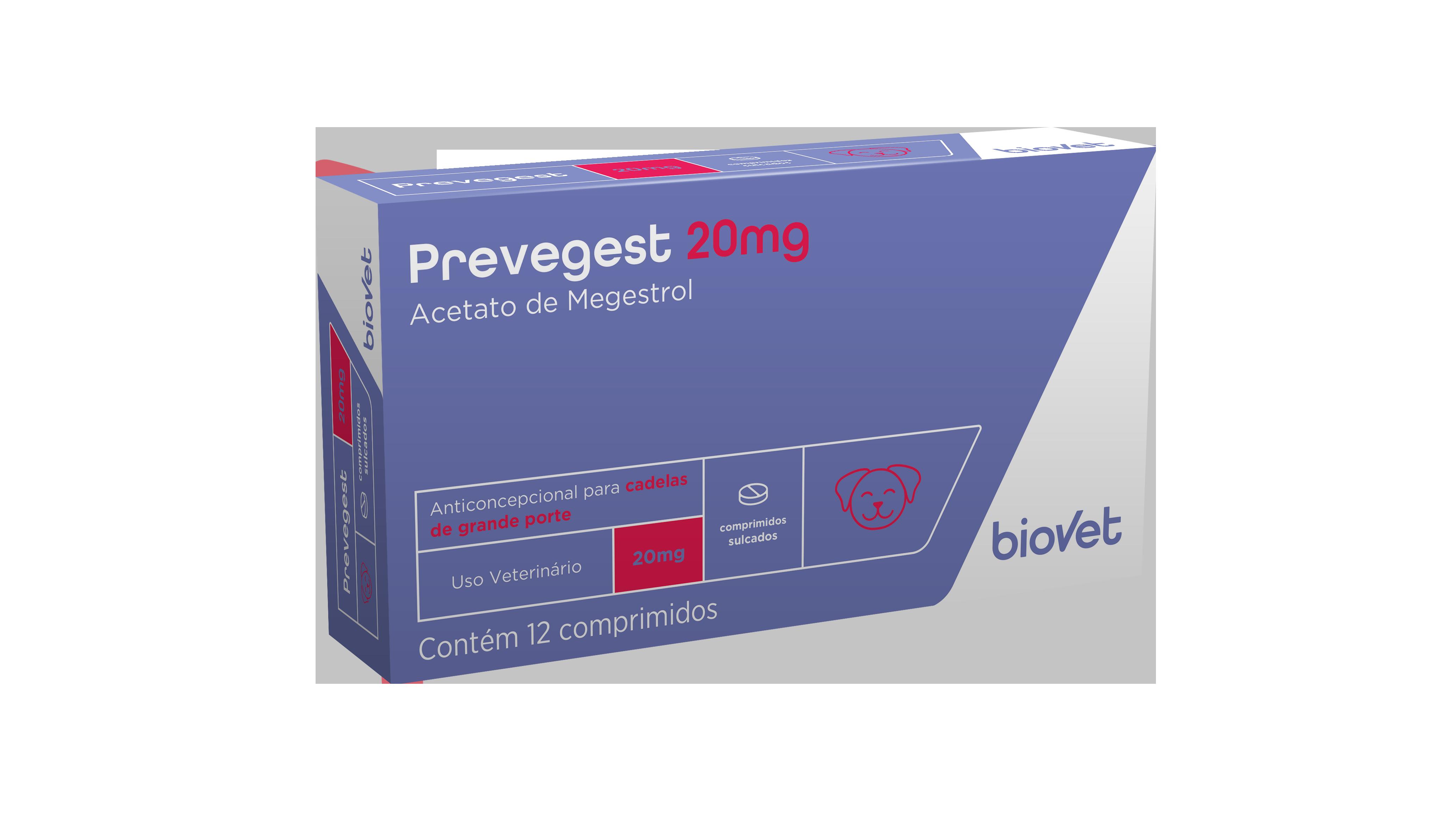 Prevegest 20 mg